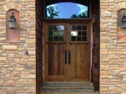 DBL Chestnut doors, installed and finished