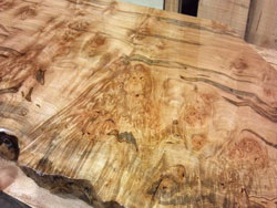 Ambrosia maple counter top for a coffee shop in Mooresville nc